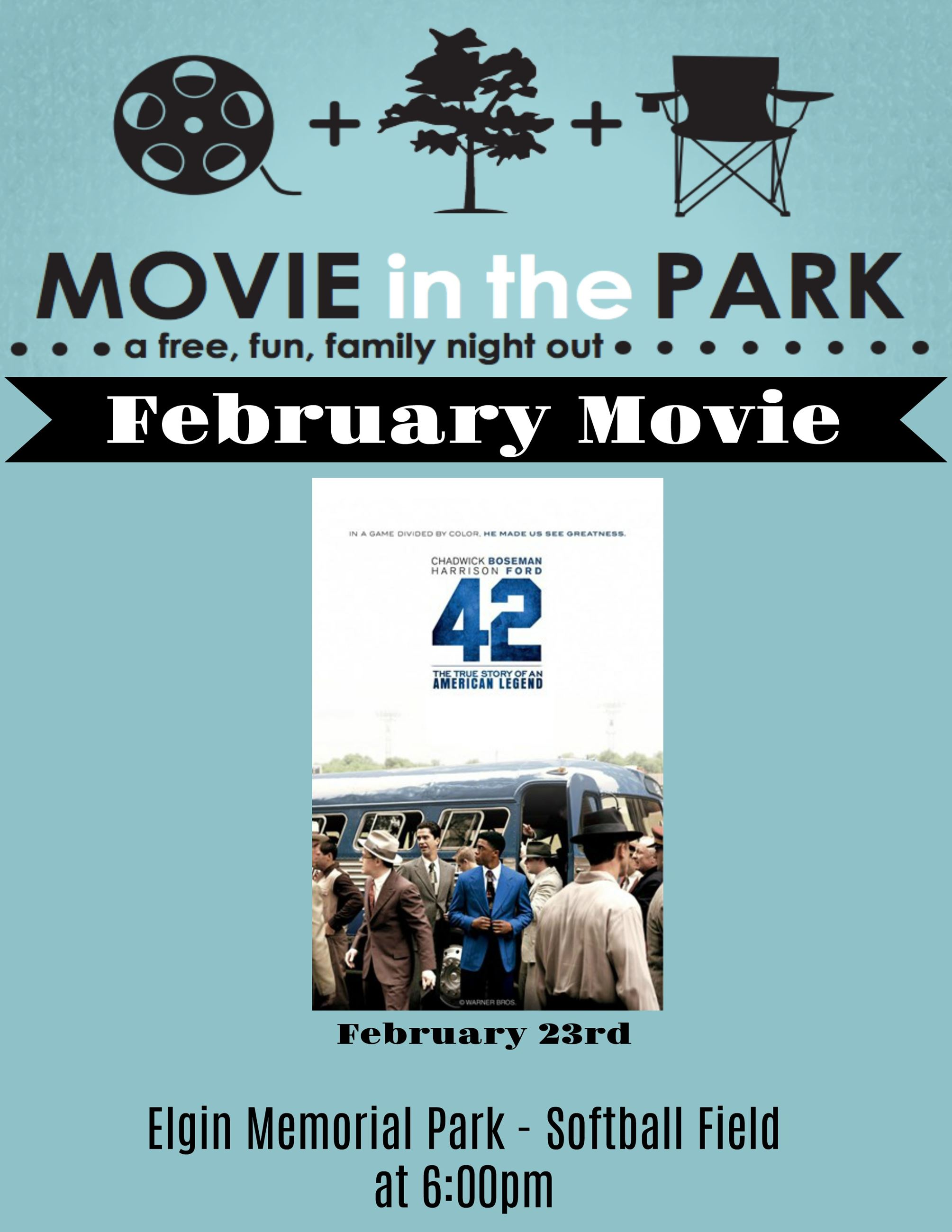 February Movie Flyer
