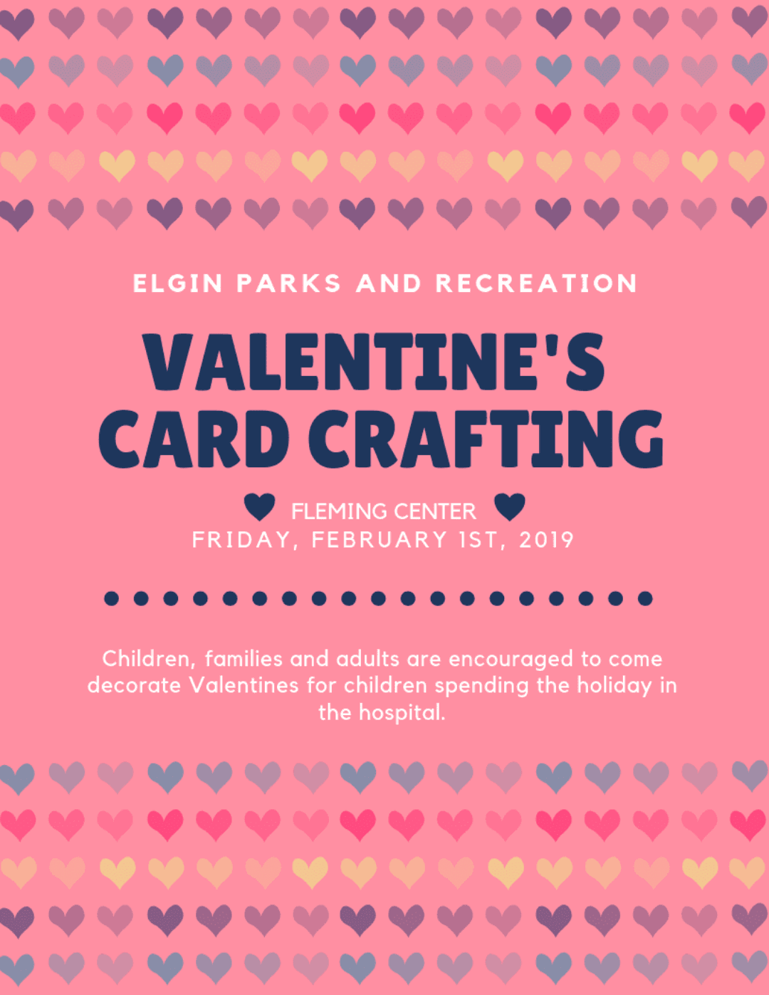 valentines cards flyer