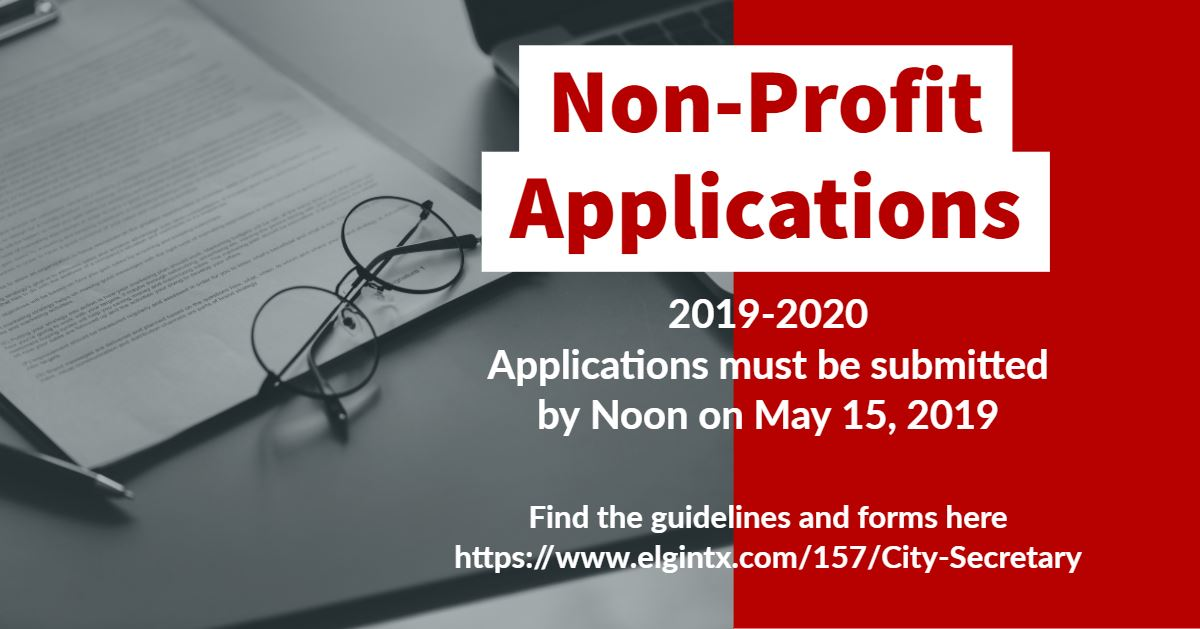 Non Profit Application Flyer