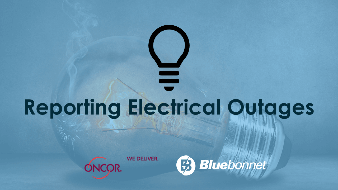 Reporting Electrical Outages