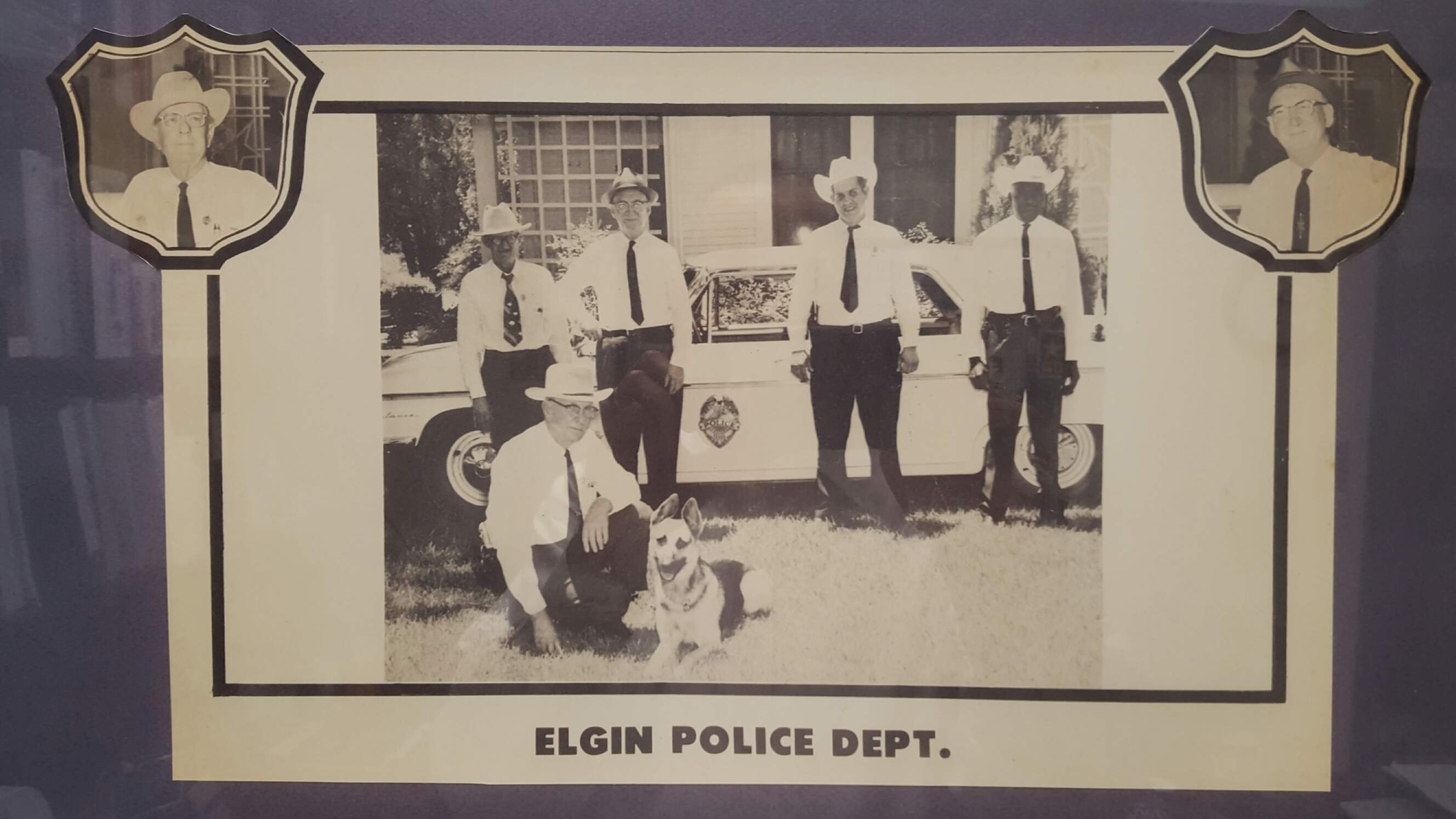 Elgin PD Hidstoric Photo