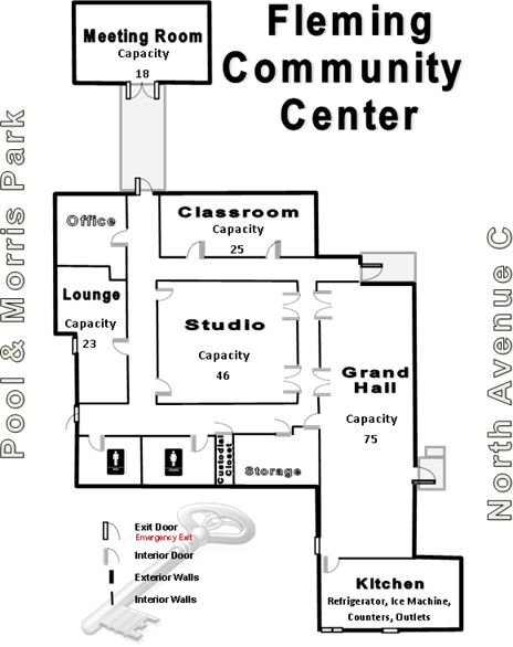 Fleming Center Floor Plan
