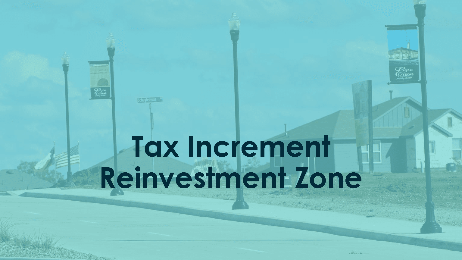 Tax Increment Reinvestment Zone