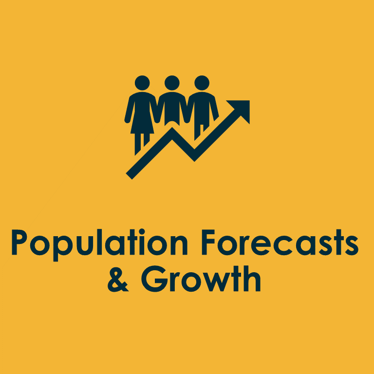 population forecasts and growth