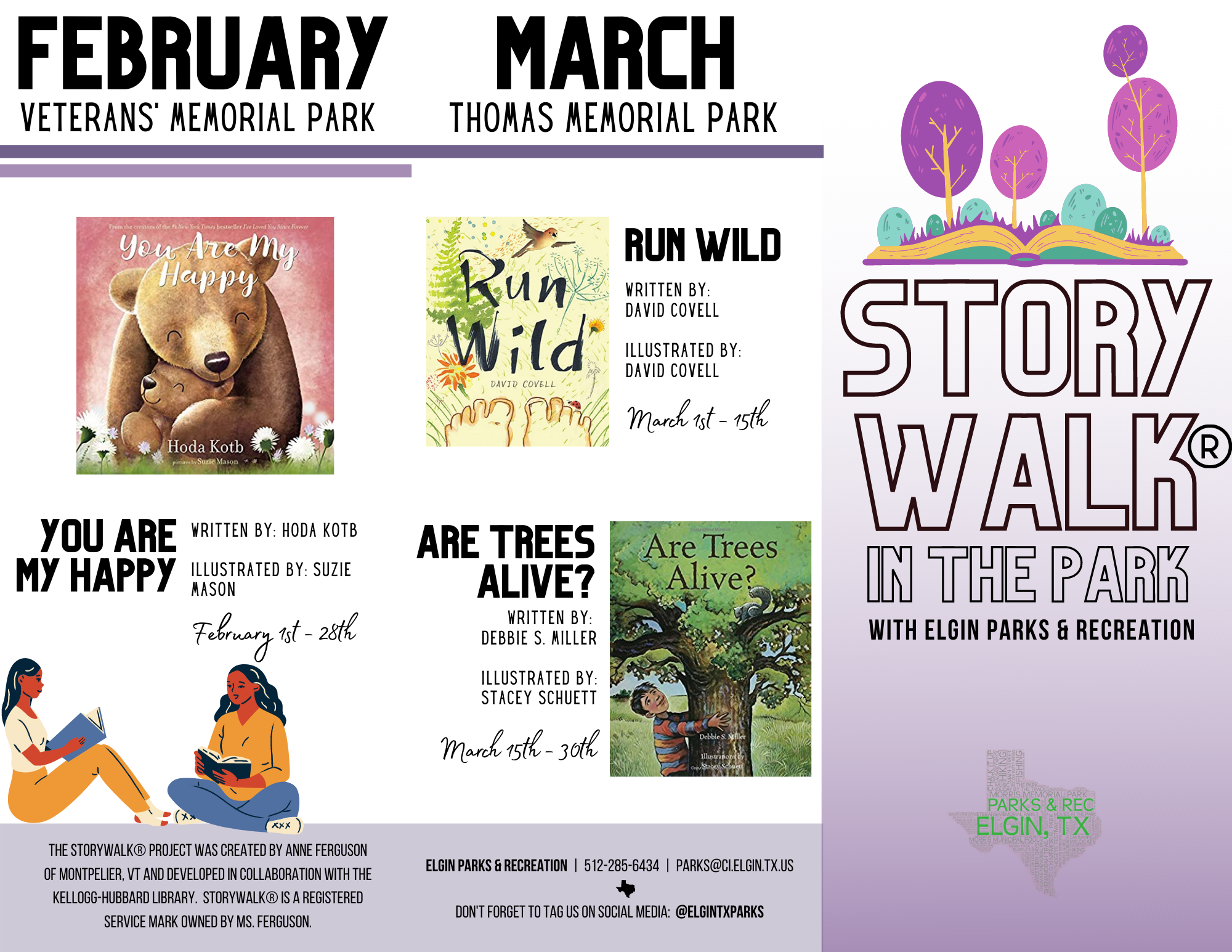 December to March StoryWalk