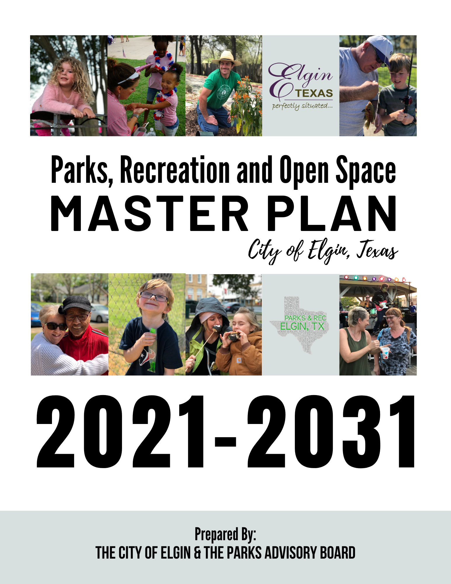 Master Plan Cover Page